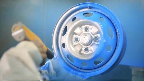 粉末静电喷涂怎样提高死角上粉率