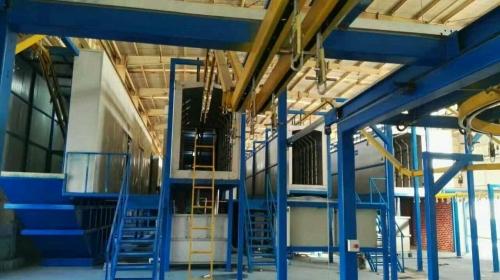 粉末静电喷涂工作原理及工艺流程工序